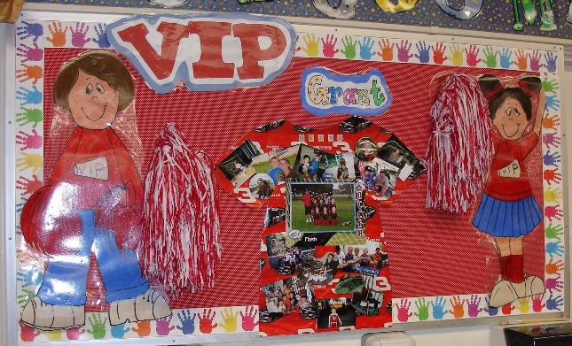 Classroom Vip Ideas ~ September bulletin board pictures